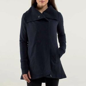 Lululemon Gratitude Wrap Jacket Heathered Inkwell
